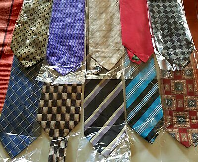 Bulk Lot x 50 Mens Fashion Ties - Mixed Brands - Imported - Free Postage - Box 7