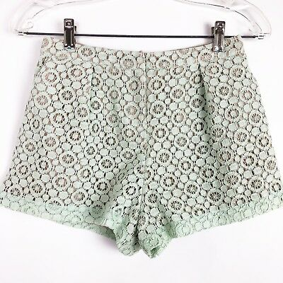 028fc34332 Victoria Beckham Target Shorts Girls Size Large Mint Green Lace Adjustable  Waist
