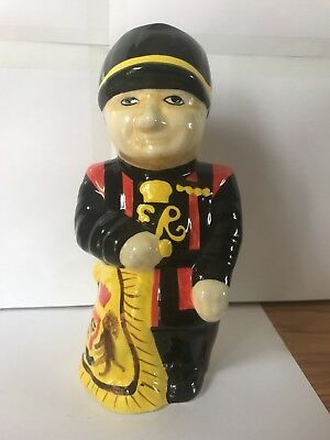 """Beefeater Toby Jug  8"""" Tall"""