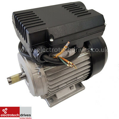 3HP Compressor Motor 2.2KW 2800rpm 2 Pole 240v 19mm shaft 80 Frame 1m of Cable
