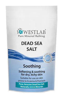Dead sea salt westlab eczema,acne and psoriasis muscles,relax,vitamin Magnesium