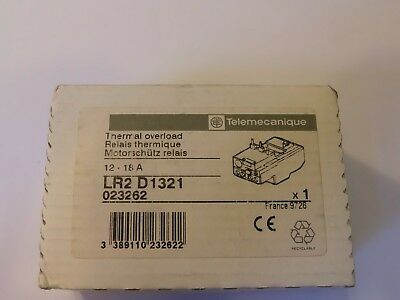 Telemecanique LR2 D 1321 Overload Relay 12-16 A BRAND NEW IN BOX