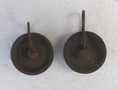 Two Early 19C. Long Case Clock  Brass Pulley Wheels.