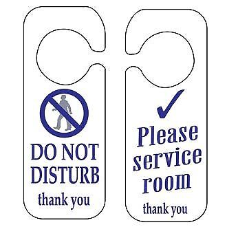 Stalwart W346 Do Not Disturb And Please Service Room Sign