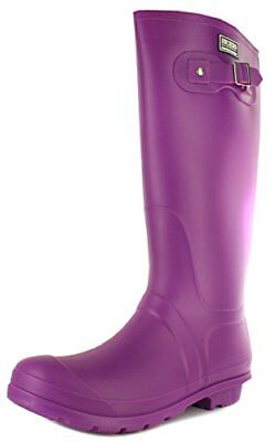 Briers Size 7 PVC Classic Rubber Look Boot - Purple
