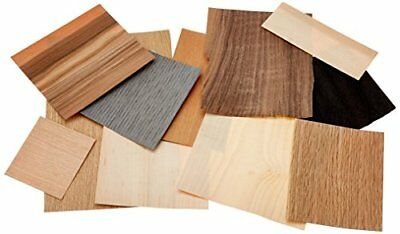 Mould Master Assorted Veneer Wood, Brown, 100 g, 21x3x19 cm Off Cuts