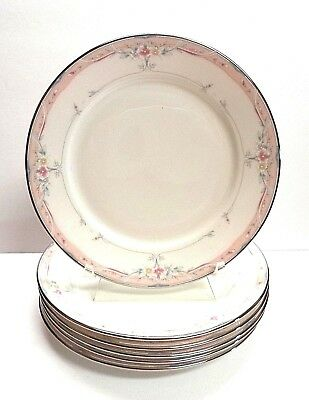 """Lenox """"Emily"""", SET of SIX, 6 1/2In. Bread And Butter Plates, Debut Collection"""
