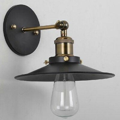wandleuchte wandlampe vintage edison lampe loft retro. Black Bedroom Furniture Sets. Home Design Ideas