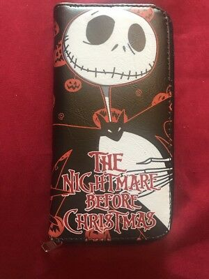 nightmare before christmas purse wallet  Nmbc