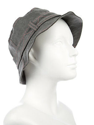980b8e45867 Christian Dior Boutique Gray Denim Cotton Bucket Hat Size  L 57 Made in  France