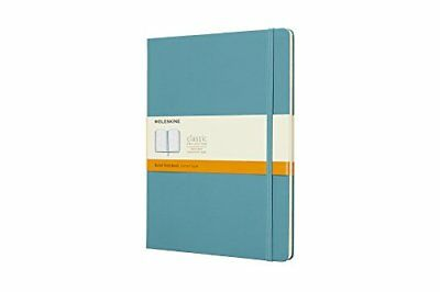 Moleskine Reef Blue Notebook Extra Large Ruled Hard