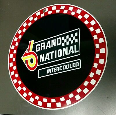 Buick Grand National sign