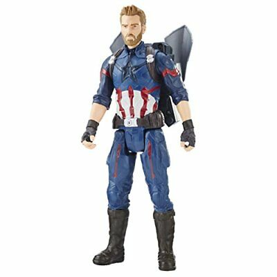 The Avengers AVENGERS Marvel Infinity War Titan Hero Power FX Captain America Fi