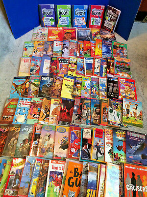 100 CHAPTER BOOKS HUGE LOT Kids Childrens AR 3rd 4th 5 6th SCHOLASTIC MINECRAFT