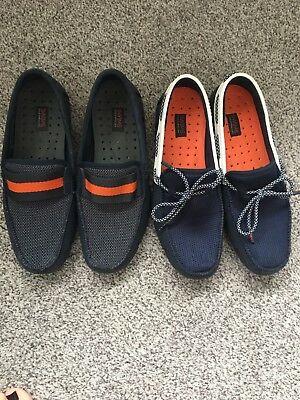 2 Pairs Mens Swims Shoes Size 8