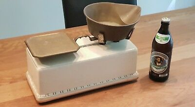 Antike KRUPS EXTRA Waage VILLEROY & BOCH Antique Scale beer upon request
