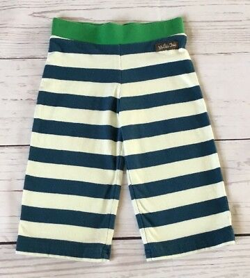 Matilda Jane Good Hart Anchors Away Straightees 18m Blue Stripe Pants
