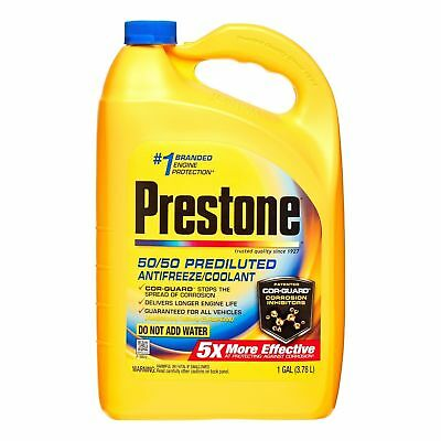 (4 Pack) Prestone Extended Life Prediluted Car Protection Antifreeze/Coolant