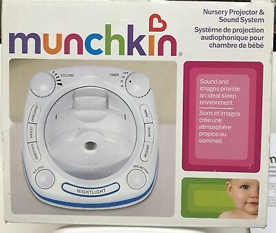 Munchkin Nursery Projector and Sound System. No Plug So No Way To Test.