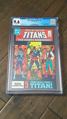 Tales Of Teen Titans #44 - Cgc 9.6 - First Appearance Of Nightwing - Dc Comics