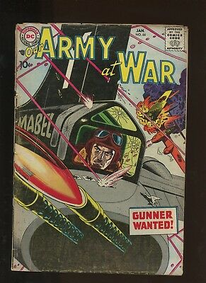 Our Army At War 66 FR 1.0 * 1 Book Lot * DC! Ross Andru! Russ Heath!