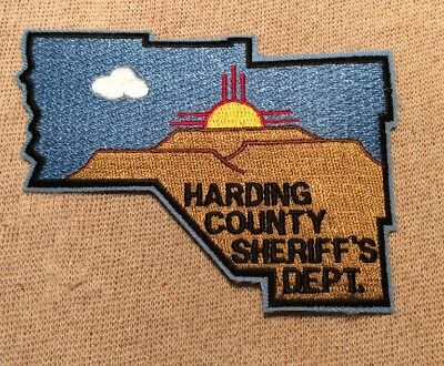 NM Harding County New Mexico Sheriff Patch (Full Sz)