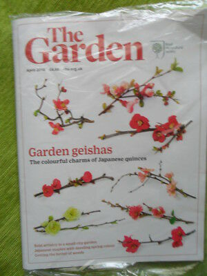 Rhs The Garden Magazine April 2018 Japanese Maples & Quinces Weeds New & Sealed