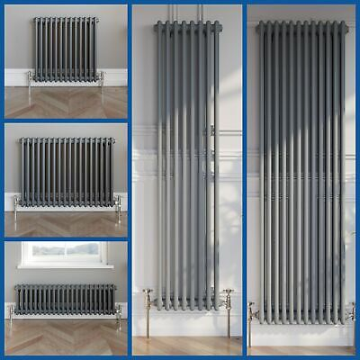 Traditional 2 3 Column Radiator Horizontal Central Heating Cast Iron Style Rads