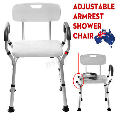 Easy To Remove Luxury Aluminum Medical Shower Chair Bathtub Bench Bath Seat Aid