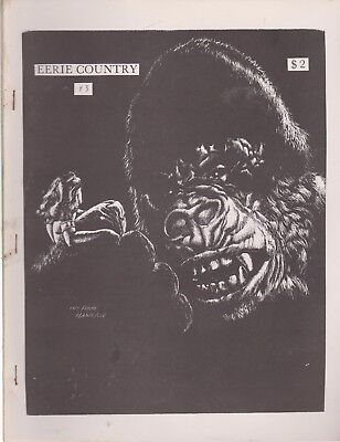 Eerie Country 3 - 1980 Horror And Weird Fiction Fanzine