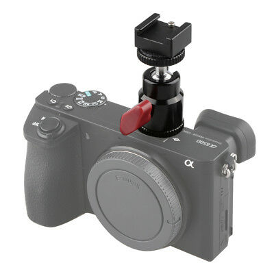 "US Ship CAMVATE Hot Cold Shoe Base Mount with 1/4"" Hole for Canon Fujifilm"
