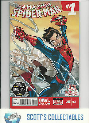 Amazing Spider-Man  #1  Vf  (2014) Boarded & Bagged