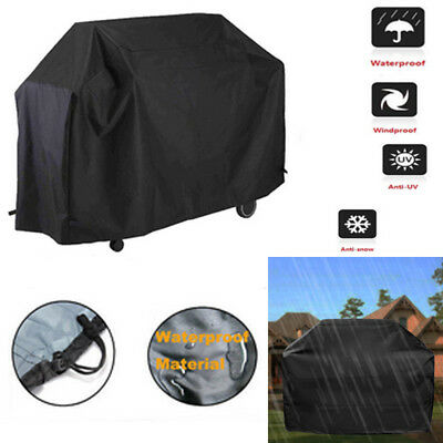 1pcs Waterproof BBQ Cover Barbeque Grill Protector Heavy Duty Dust Patio Gas
