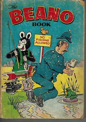 THE BEANO BOOK 1955 vintage comic annual - g