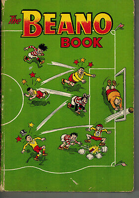 THE BEANO BOOK 1957 vintage comic annual - g