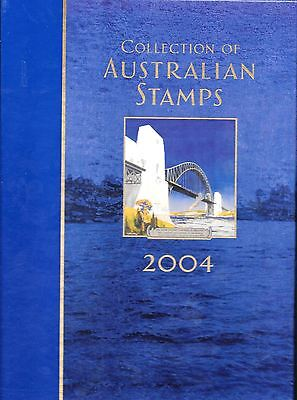 2004 Collection of Australian Stamps, deluxe  ed., yearbook & slipcase FV=$56.45