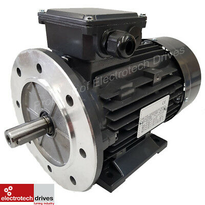 Three Phase Electric Motors 0.09kw to 11kw Foot and Flange variations available