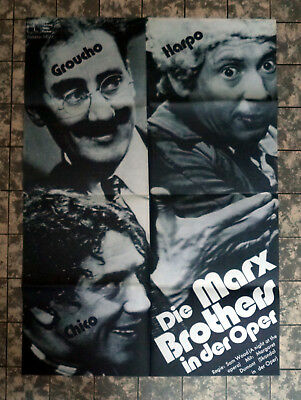 MARX BROTHERS IN DER OPER * A1-FILMPOSTER - Ger 1-Sheet ´73 A NIGHT AT THE OPERA