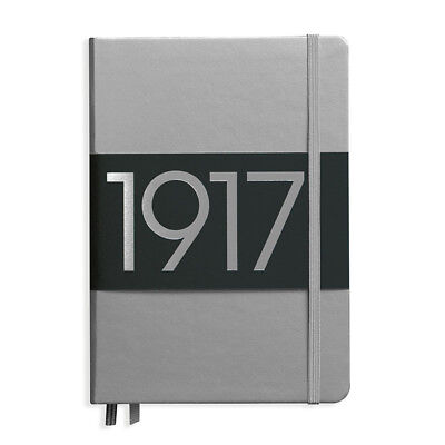 Leuchtturm1917 Metallic Limited Edition Hardcover Notebook - Dotted - Silver- A5