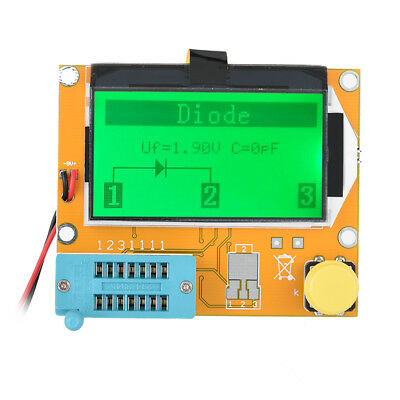 LCR-T4 Graphical ESR Transistor Tester Two Resistance Test 2*16-digit LCD Transi