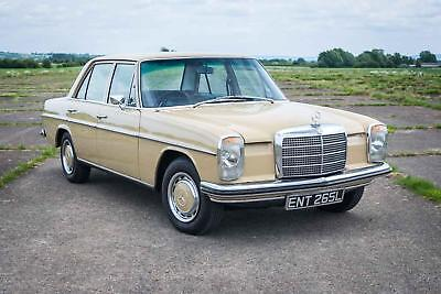 1973 Mercedes-Benz 220/8 - Just 53,394 Miles from new - Totally original