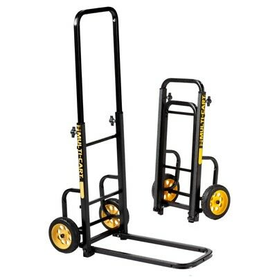 Rock N Roller Multi-Cart RMH1 Mini Hand Truck Folding DJ Music Equipment Trolley