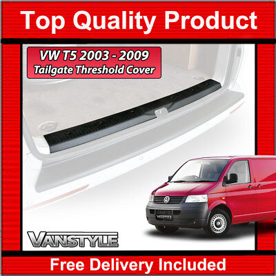 Vw T5 2003-2009 Transporter & Caravelle Tailgate Threshold Cover Protector Trim