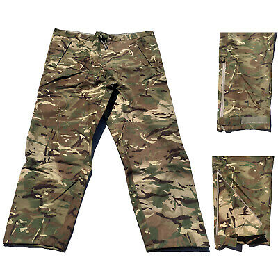 MTP Trousers Wet Weather Goretex Waterproof Over Trousers Zip Leg Army Surplus