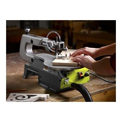 Ryobi 16 In Corded Scroll Saw Jigsaw Woodworking Variable Speed Wood