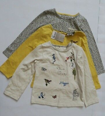 Next Girl`s Top Long Sleeve 3 Pack Size 1.5-2 years