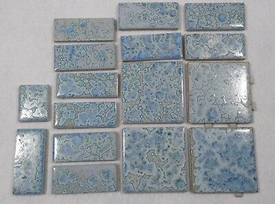 Lot of Vintage Mid Century Tile-Beautiful Design-Made in Korea-Low Price