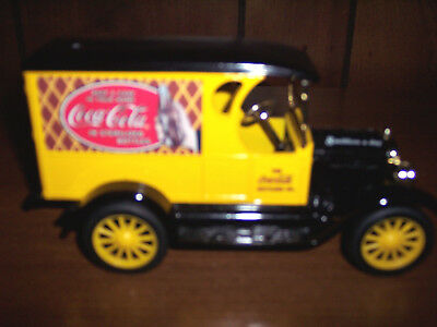 Coca-Cola Ertl Die Cast Bank 1923 Chevrolet Delivery Truck New Without Box !!!