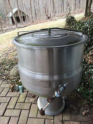 National 40 Gallon Stainless Steel Steam Jacketed Kettle