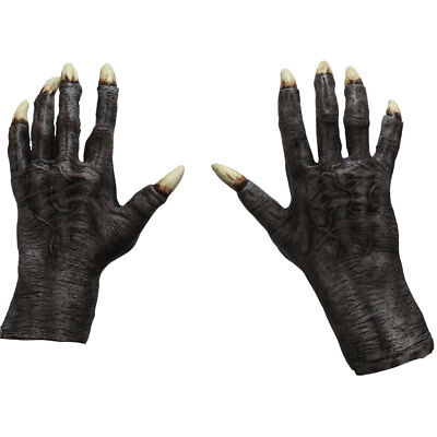 Adult Gray Monster Claws Costume Accessory